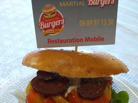 Restauration rapide : Food truck Martial Burger