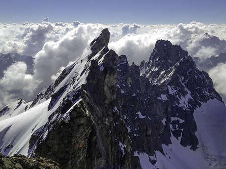 La traversée de la Meije (3 983 m)  avec le bureau des guides