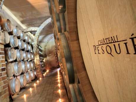 Initiation à la dégustation au Château Pesquié
