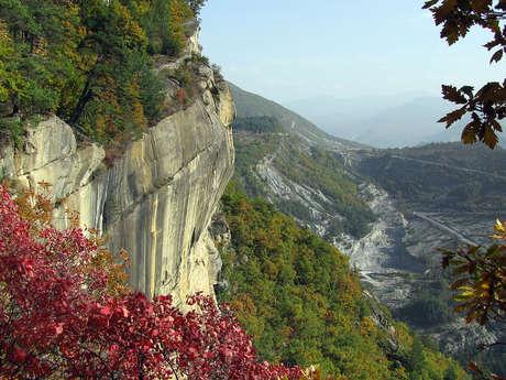 Site naturel des grès d'Annot
