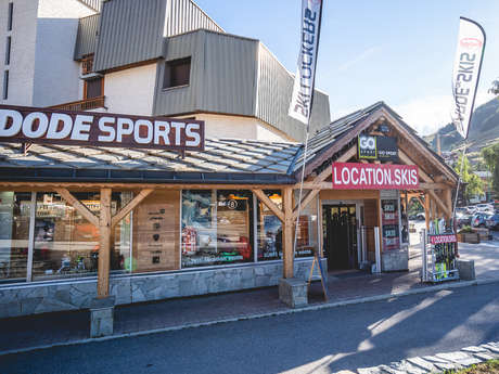 Ski locker Dode Sports