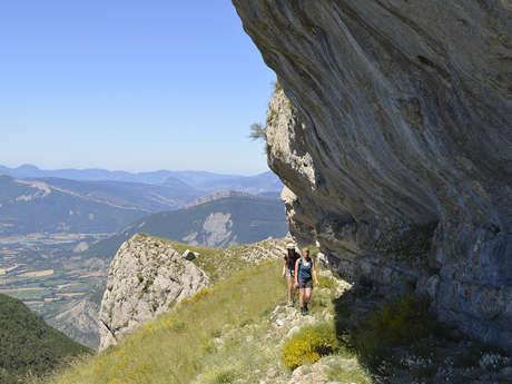 """Séjours bivouac """"Les Balcons du Buëch"""" avec Détours en Montagne"""