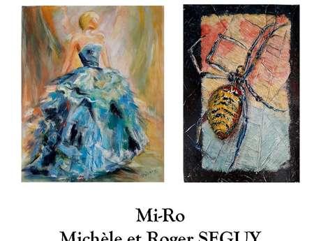 Exposition de peinture : Mi-Ro - Michèle et Roland Séguy