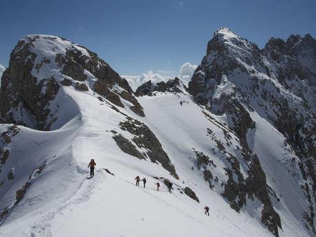 « Du Goléon au Mont Thabor » à ski avec Paulo Grobel