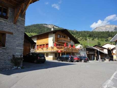 Café du Village du Levron