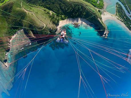 Vol en paramoteur biplace de 30 min - Vertical Lagon