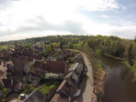 Hérisson, village et cité médiévale