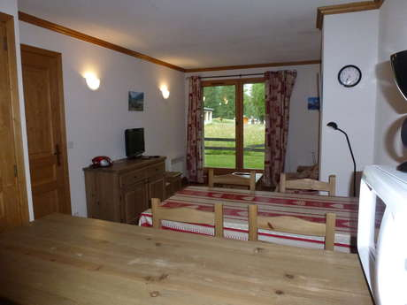 Résidence Le Clos Vanoise - Appartement 2 pièces cabine 6 personnes - CVE1
