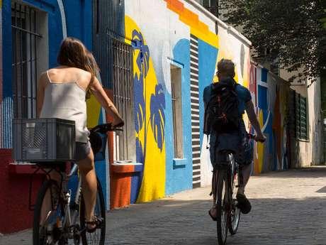 A vélo d'Epinay-sur-Seine à la Philharmonie de Paris