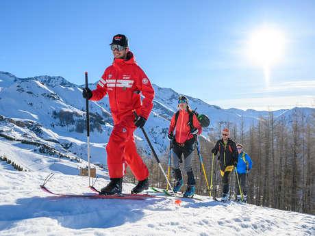 Ski de randonnée avec l'esf