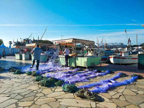 Étals de pêcheurs