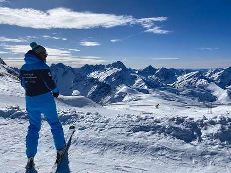 Cours de ski et de snowboard - Moniteur indépendant Val2gofun
