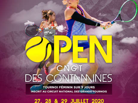 Les Contamines national tennis open