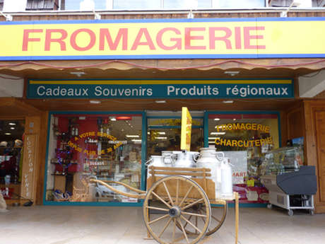 Local produce - La Crèmerie des Alpes