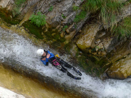 Canyoning - Guides Esprit Montagne