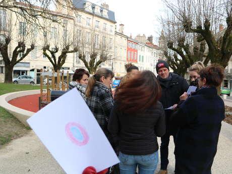 Bourg-en-Bresse autrement : parcours sensoriel et participatif