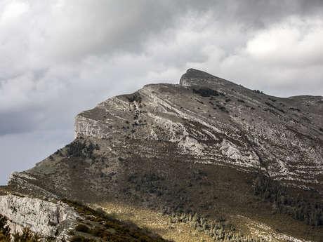 Le sommet de Couar (1988 m)