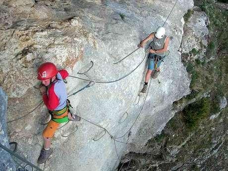 Via Ferrata entre escalade et randonnée