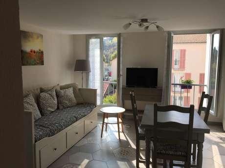 """Appartement T2 Maison du Chat Roi """"Coquelicot"""""""