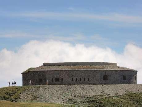 Sentier des 2000 jusqu'au fort de Ronce