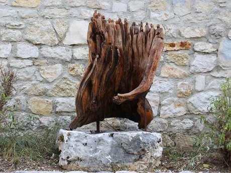 """Sculpture """"Rencontre"""" de Christel Schlierkamp"""