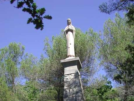 Stele Oratory Notre Dame des Lourdes