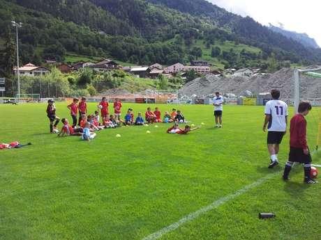Camp de foot du FC Bagnes