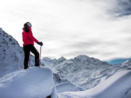 Thematische Schneeschuhwanderung - Schatzsucherweg