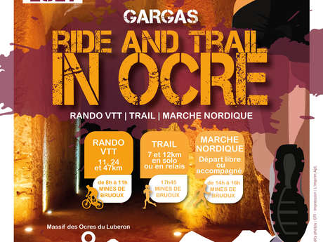 Ride and Trail in Ocre