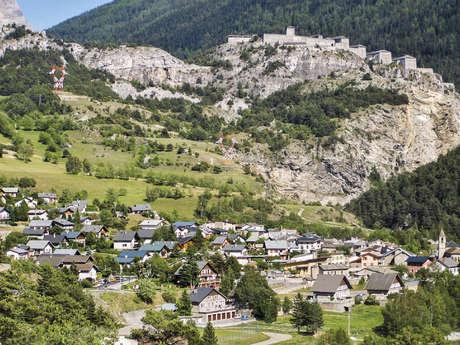 19 - Cross-country - Bleu - Les villages