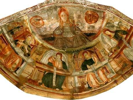 Les fresques de la Chapelle Saint Thomas