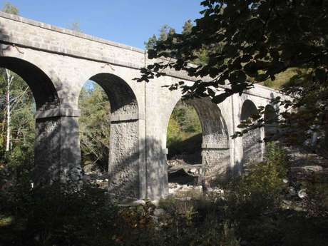 Aqueduc du torrent d'Ancelle