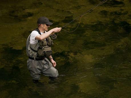 Parcours pêche «Prendre et relâcher» sur le Guiers au pont du Curé