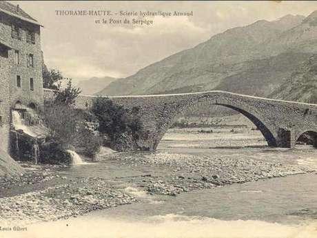 Le Pont du Moulin ou Ancien Pont d'Ondres