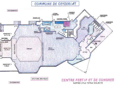 Centre festif et de congrès - Ceyzériat