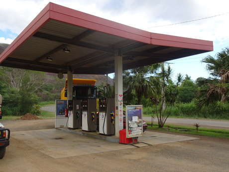 Station d'essence Total