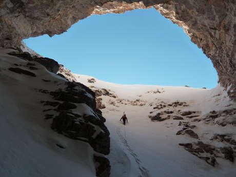 Ski de randonnée : Les Chourums avec Eric Fossard Bleu Montagne
