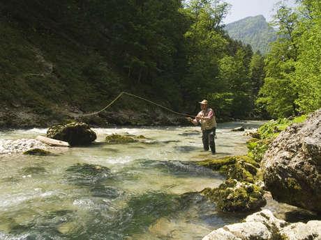 Parcours de Pêche dans le Guiers Mort