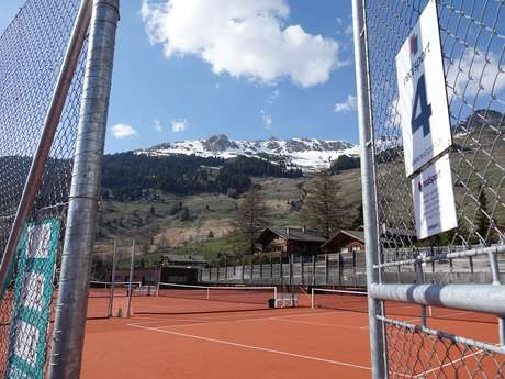 Outdoor tennis - Verbier Sports Center