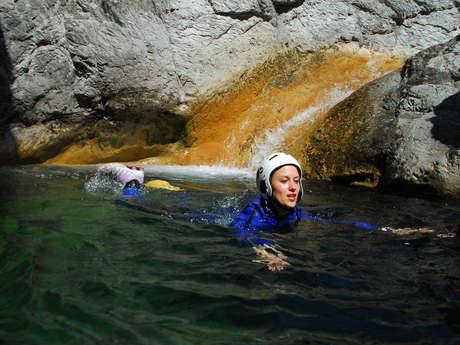 Canyon de Chaillol - Bureau des Guides Champsaur Valgaudemar