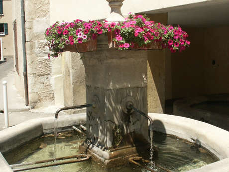 Balade des fontaines et lavoirs