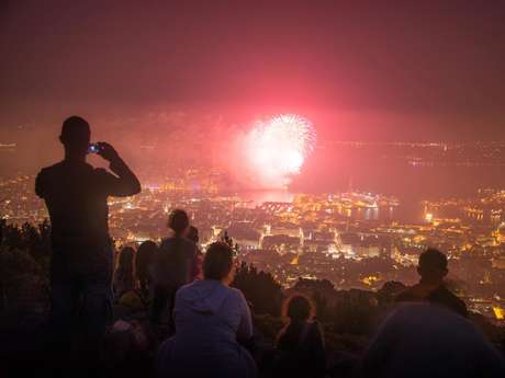 Sortie nocturne spéciale feu d'artifice du 14 juillet