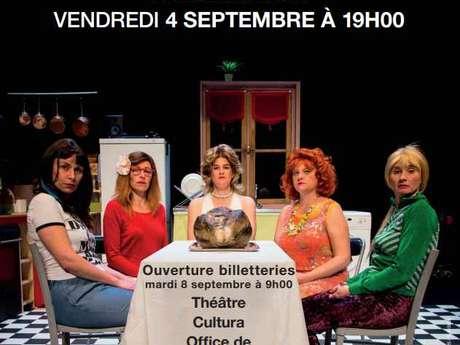 Théâtre : Les Hortensias