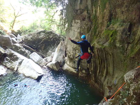 Canyoning avec Sortie-Canyon