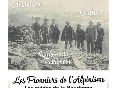 """Soirée Culture - """"Les Pionniers de l'Alpinisme"""" par Pierre Giordano"""