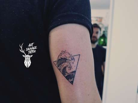 Art sauvage tatoo