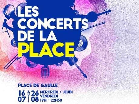 Les Concerts de la Place - Stephane Delaurme
