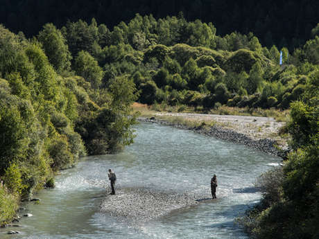 Fishing course of Lanslevillard
