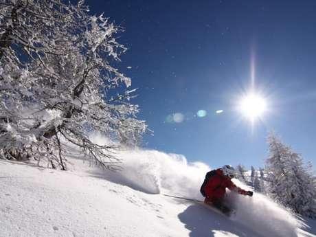 Ski de randonnée - Free rando en Clarée - Bureau Montagne Visa Trekking