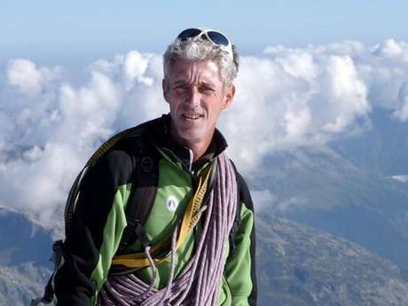 Alpinisme avec Eric Fossard Bleu Montagne